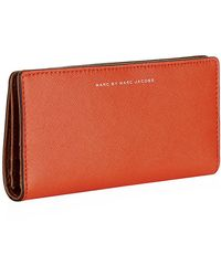 Marc By Marc Jacobs Sophisticato Colourblocked Bifold Wallet - Lyst