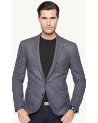 Ralph Lauren Black Label Herringbone Daniel Sport Coat - Lyst