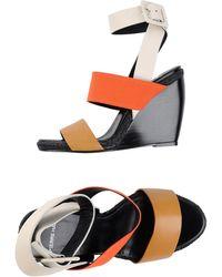 Pierre Hardy Slippers multicolor - Lyst