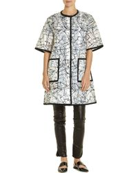 Lisa Perry Pollock Coat multicolor - Lyst