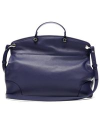 Furla Notturno Pebbled Leather Piper Large Top Handle Bag - Lyst