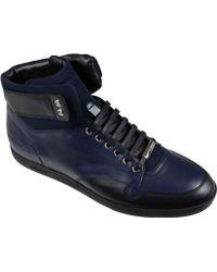 Dior Sneakers Blu Alte - Lyst