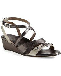 Anyi Lu 'Lily' Wedge Sandal - Lyst