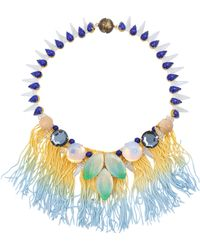 Tataborello - Officina Fringes Necklace - Lyst