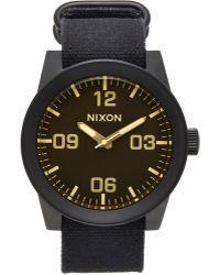 Nixon Corporal Watch - Lyst