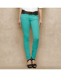 Blue Label Courtland Colored Skinny Jean - Lyst