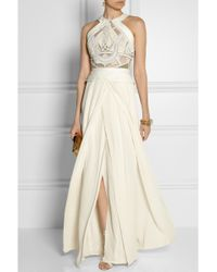 Sass & Bide Hurricane Unleashed Embellished Cotton and Silkblend Gown - Lyst