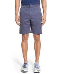 Bobby Jones - 'tech' Flat Front Wrinkle Free Stripe Golf Shorts - Lyst