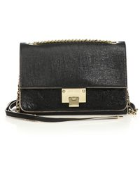 Jimmy Choo Rebel Washed Leather Crossbody Bag - Lyst