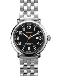 Shinola The Runwell with Date Window Watch 47mm - Lyst