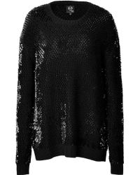 McQ by Alexander McQueen Sequin Pullover - Lyst