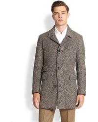 Billy Reid Tweed Astor Coat - Lyst