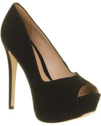 Office Stride Platform Peeptoe - Lyst
