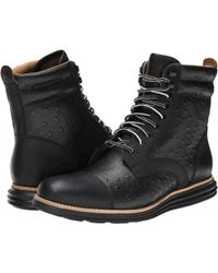 Cole Haan Lunargrand Lace Boot - Lyst