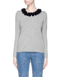 Chinti & Parker | Pompom Cashmere Sweater | Lyst