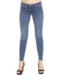 Jeckerson Jeans Woman blue - Lyst