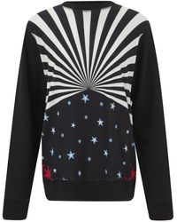 Matthew Williamson - Hero Star Structured Jersey Sweatshirt - Lyst