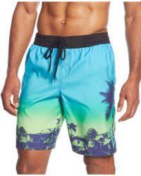"""Adidas One Love Printed 9"""" Volley Shorts - Lyst"""