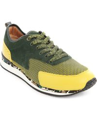 Paul & Joe Paysley Yellow And Khaki Sneakers - Lyst