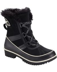 Sorel Tivolo Ii Waterproof Suede Mid Snow Boots - Lyst