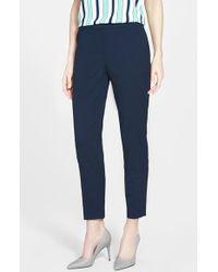 Jones New York | 'Grace' Slim Ankle Trousers | Lyst