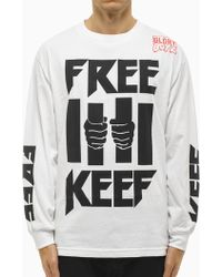 """Been Trill """"Free Keef"""" Tee white - Lyst"""