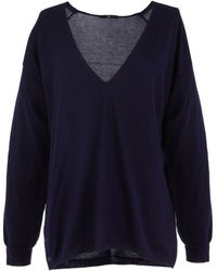 Tibi | Featherweight Cashmere V-neck Pullover | Lyst
