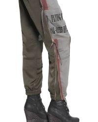 A.F.Vandevorst - Embroidered Techno Fluid Jumpsuit - Lyst