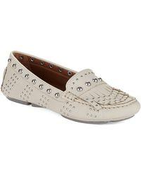 Donald J Pliner - Val Leather Loafers - Lyst