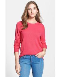 Equipment 'Sloane' Crewneck Cashmere Sweater - Lyst