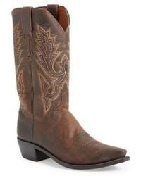 Lucchese | 'madras' Western Boot | Lyst