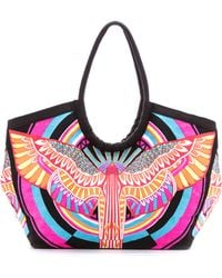 Mara Hoffman - Rainbow Bird Bag - Rainbow Bird Lilac - Lyst
