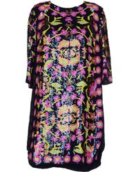 Antik Batik Purple Short Dress - Lyst