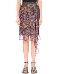Dries Van Noten Tapestry Wrap Silk-Blend Skirt - For Women - Lyst