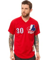 Mitchell & Ness The Tim Raines 30 Mesh Batting Practice Jersey - Lyst