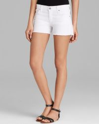Citizens Of Humanity Shorts Ava Cutoff in Santorini - Lyst