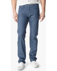 7 For All Mankind No Fade Denim: Standard Classic Straight - Lyst
