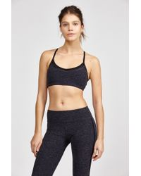 Beyond Yoga | Spacedye Lattice Panel Bra | Lyst