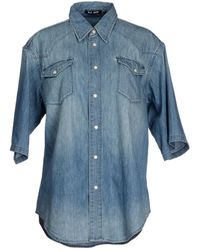 BLK DNM Denim Shirt - Lyst