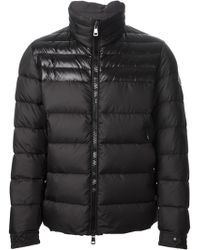 Moncler Long Sleeve Padded Coat - Lyst