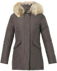 Woolrich Arctic Fur-Hood Down Parka Jacket - Lyst