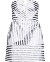 Richard Nicoll Short Dress - Lyst