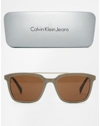 Ck Jeans Sunglasses  men s calvin klein jeans sunglasses from 32 lyst