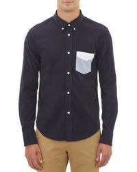 Band Of Outsiders Pinwale Corduroy Shirt - Lyst