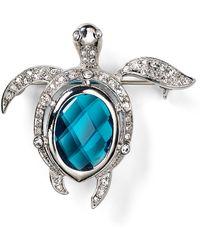 Carolee - Turtle Pin - Lyst