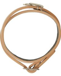 McQ by Alexander McQueen Rose Gold Mini Swallow Wrap Bracelet - Lyst