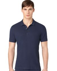 Calvin Klein Mens Superior Cotton Sleep Polo - Lyst