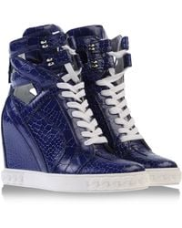 Casadei High-Tops & Trainers - Lyst