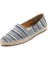 Belle By Sigerson Morrison Maga Two Espadrilles - Negro - Lyst