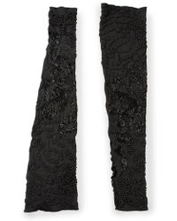 Peachoo + Krejberg Embellished Arm Warmers - Lyst